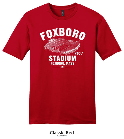 Foxboro Stadium 1971 New England Patriots Collection