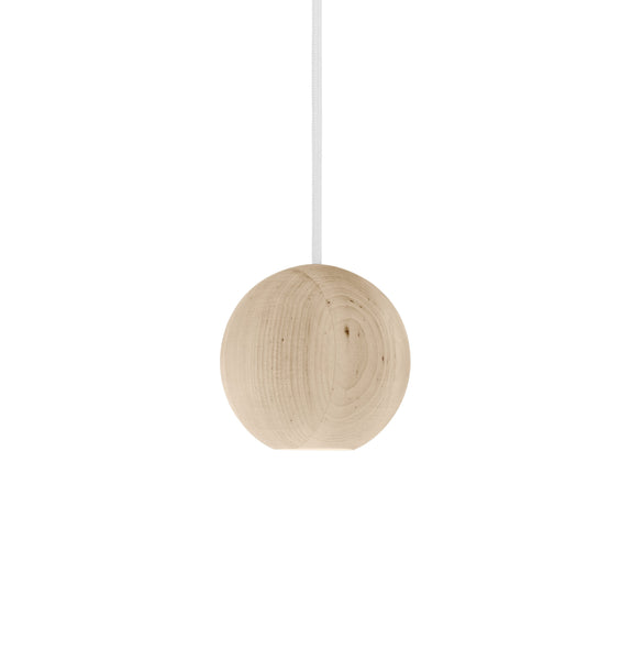 Liuku Base Ball Wooden Pendant