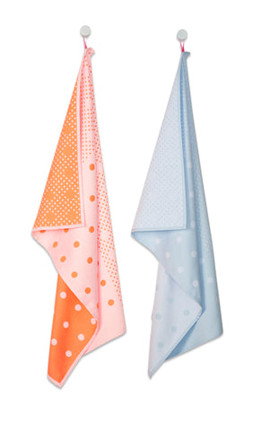 Big Dots Tea Towels