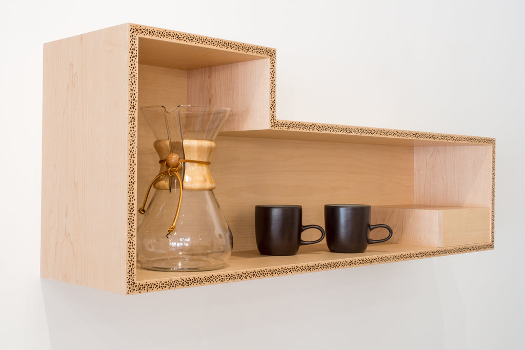 Grounded Coffee Shelf