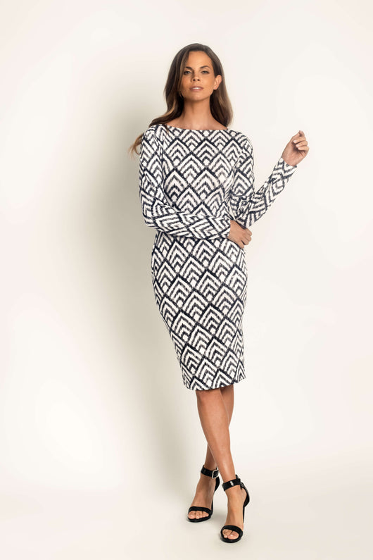 Ikat Bodycon Dress