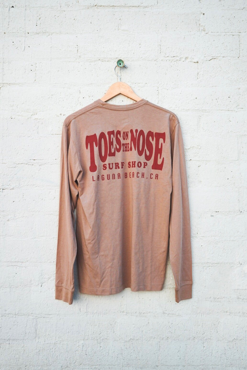 Stretch Logo Long Sleeve Tee