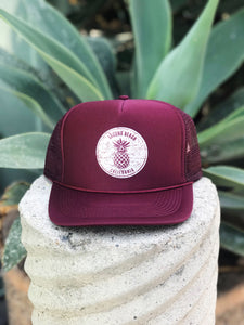 Laguna Beach Pineapple Trucker