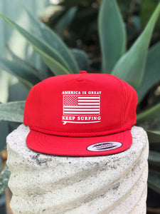 Keep Surfing Snapback
