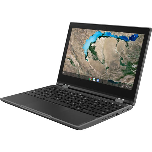 "Lenovo 300e Chromebook 2nd Gen 81QC0000US 11.6"" Chromebook - 1366 x 768 - M8173C - 4 GB RAM - 32 GB Flash Memory - Black"