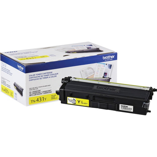Brother TN431Y Toner Cartridge - Yellow