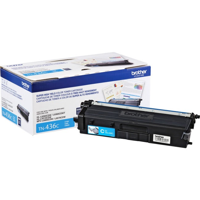 Brother TN436C Original Toner Cartridge - Cyan