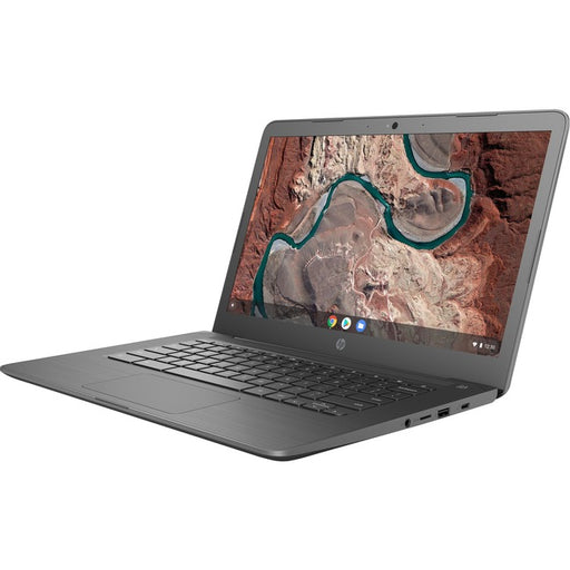 "HP Chromebook 14-db0000 14-db0001ca 14"" Chromebook - 1366 x 768 - A-Series A4-9120C - 4 GB RAM - 32 GB Flash Memory - Chalkboard Gray"