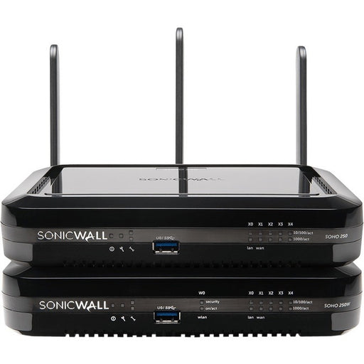 SonicWall SOHO 250 Network Security-Firewall Appliance