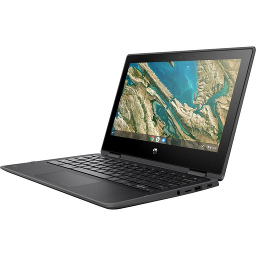 "HP Chromebook x360 11 G3 EE 11.6"" Touchscreen 2 in 1 Chromebook - HD - 1366 x 768 - Intel Celeron N4020 Dual-core (2 Core) 1.10 GHz - 4 GB RAM - 32 GB Flash Memory"