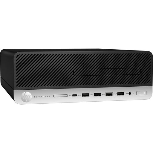 HP EliteDesk 705 G5 Desktop Computer - AMD Ryzen 5 PRO 3400G 3.70 GHz - 8 GB RAM DDR4 SDRAM - 256 GB SSD - Small Form Factor