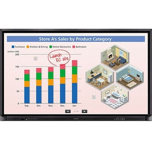 Sharp AQUOS BOARD PN-CE701H Interactive Whiteboard
