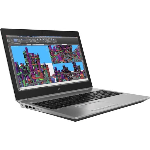 "HP ZBook 15 G5 15.6"" Mobile Workstation - 1920 x 1080 - Core i9 i9-8950HK - 32 GB RAM - 512 GB SSD - Turbo Silver"