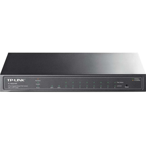 TP-Link 8-Port Gigabit Smart PoE Switch with 2 SFP Slots