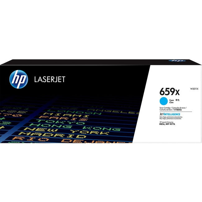 HP 659X (W2011X) Toner Cartridge - Cyan