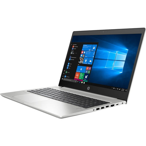 "HP ProBook 455 G6 15.6"" Notebook - 1920 x 1080 - AMD Ryzen 7 PRO 2700U Quad-core (4 Core) 2.20 GHz - 16 GB RAM - 512 GB SSD - Natural Silver"