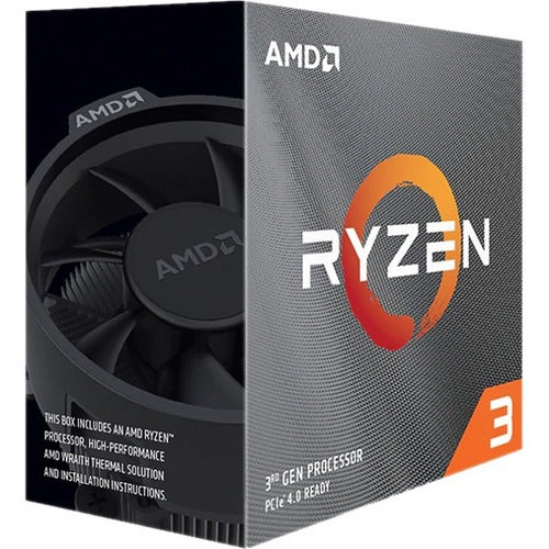 AMD Ryzen 3 (3rd Gen) 3100 Quad-core (4 Core) 3.60 GHz Processor - Retail Pack