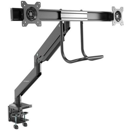 StarTech.com Dual Monitor Arm - Heavy Duty - Synced Height Adjustment - Grommet or Desk Clamp Mount - Adjustable Dual Monitor Mount