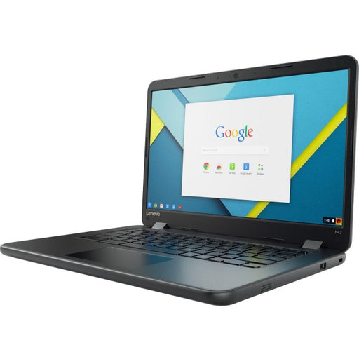 "Lenovo N42-20 80US0004CF 14"" Chromebook - 1366 x 768 - Celeron N3060 - 4 GB RAM - 32 GB Flash Memory"