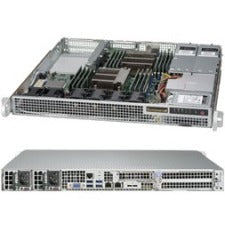 Supermicro SuperServer 1028R-WMRT Barebone System - 1U Rack-mountable - Intel C612 Chipset - Socket LGA 2011-v3 - 2 x Processor Support