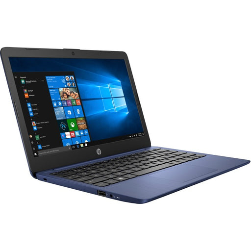 "HP Stream 11-ak1000 11-ak1010nr 11.6"" Netbook - 1366 x 768 - Atom x5 E8000 - 4 GB RAM - 32 GB Flash Memory - Royal Blue, Frosted Blue"
