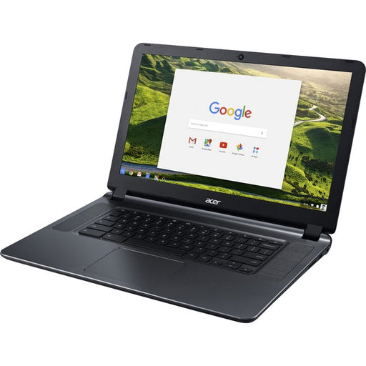 "Acer CB3-532-C85D 15.6"" Chromebook - 1366 x 768 - Celeron N3060 - 4 GB RAM - 16 GB Flash Memory - Granite Gray"