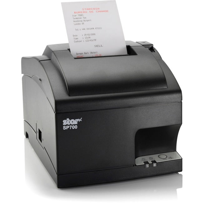 Star Micronics SP742ML Dot Matrix Printer - Monochrome - Desktop - Receipt Print