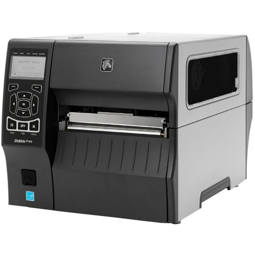 Zebra ZT420 Direct Thermal-Thermal Transfer Printer - Monochrome - Desktop - Label Print