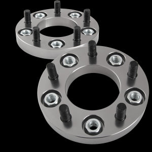 Pair of 15mm Bolt on Wheel Spacer 5x114.3 12x1.25