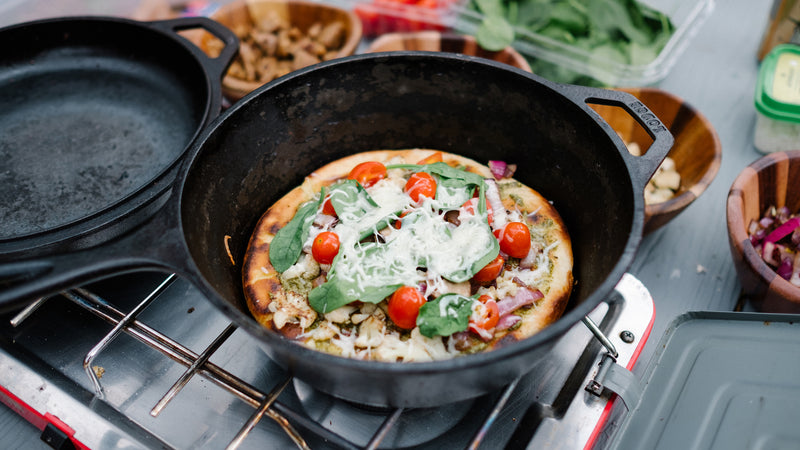 Skillet Camp Pizza