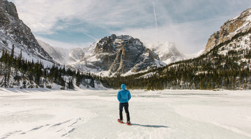 Snowshoeing in the Rockies