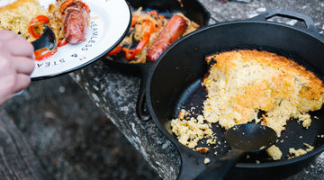 Rosemary Cornbread for Camping