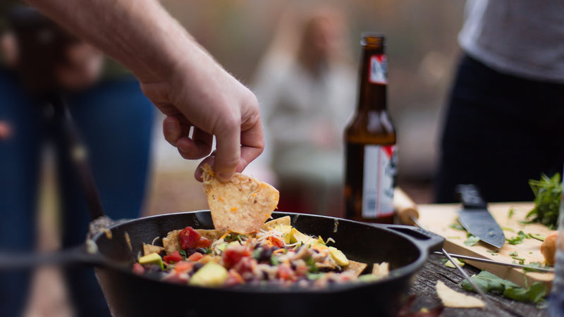 Our Campfire Nachos Were Not a Disaster
