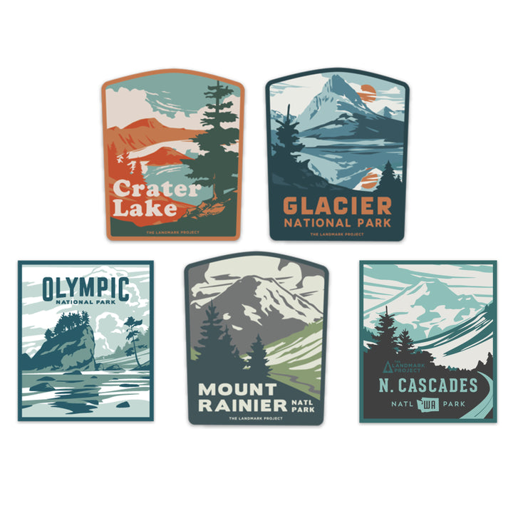 Pacific Northwest Sticker Bundle