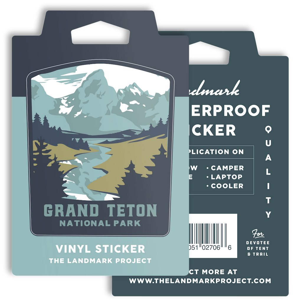 Grand Teton National Park - Sticker