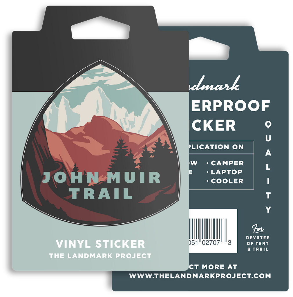 John Muir Trail Sticker