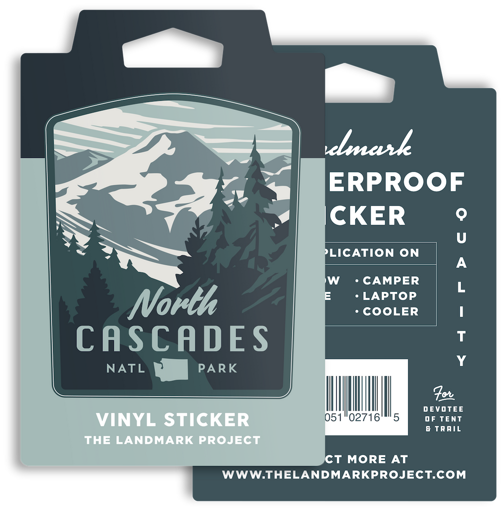 North Cascades National Park Sticker