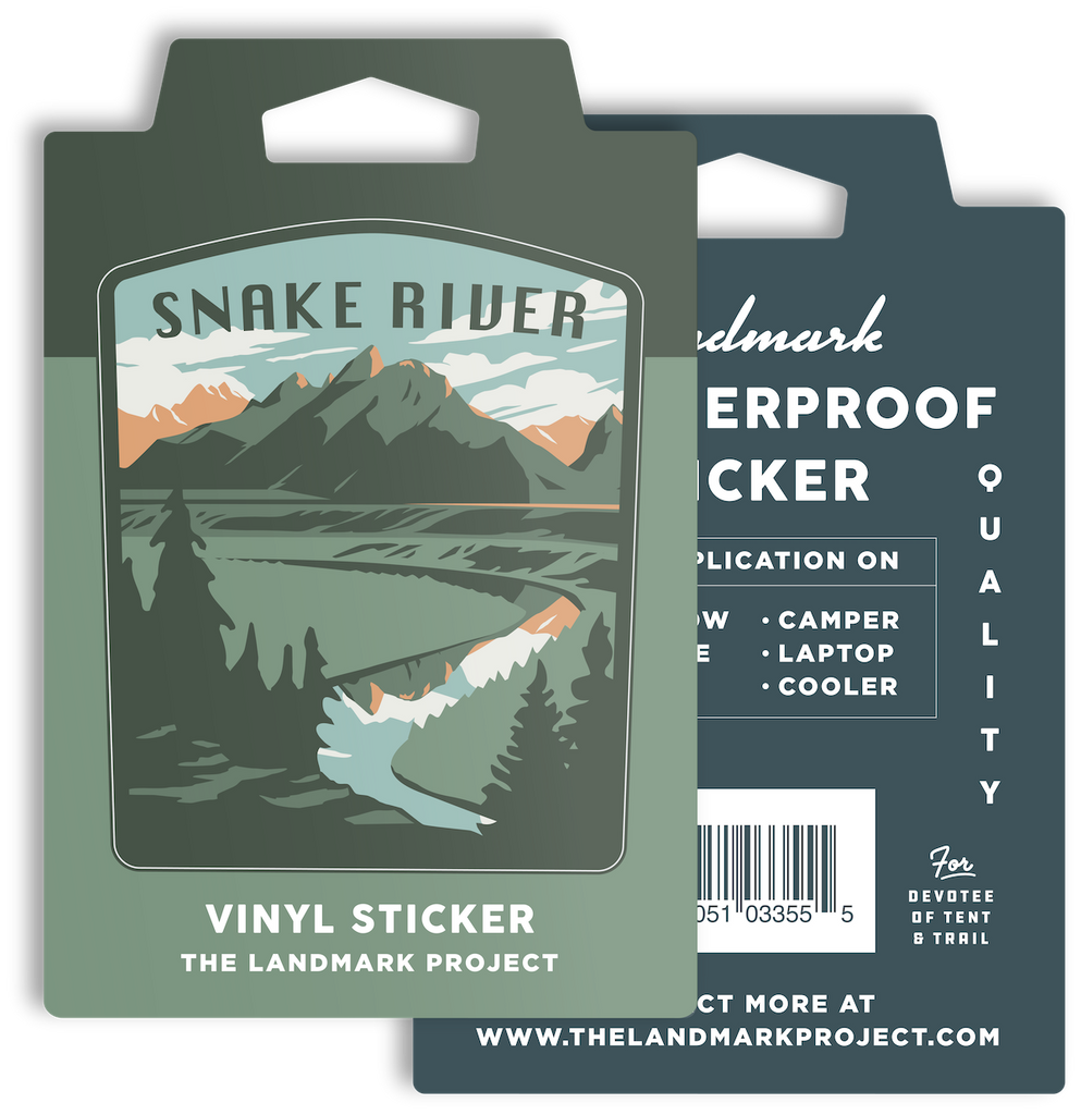 Snake River Sticker