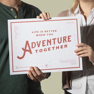 Adventure Together - Poster