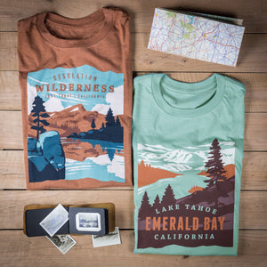 Lake Tahoe Emerald Bay t-shirt