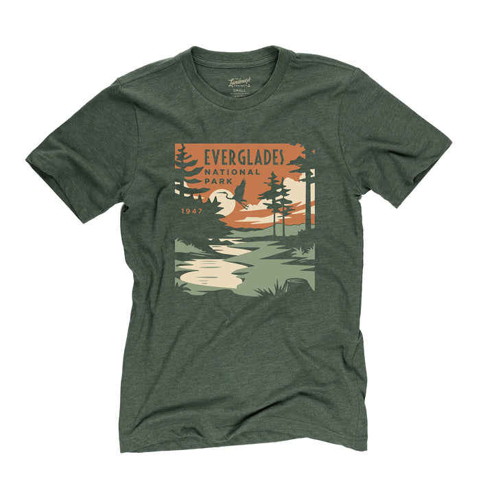 Everglades National Park t-shirt in fatigue