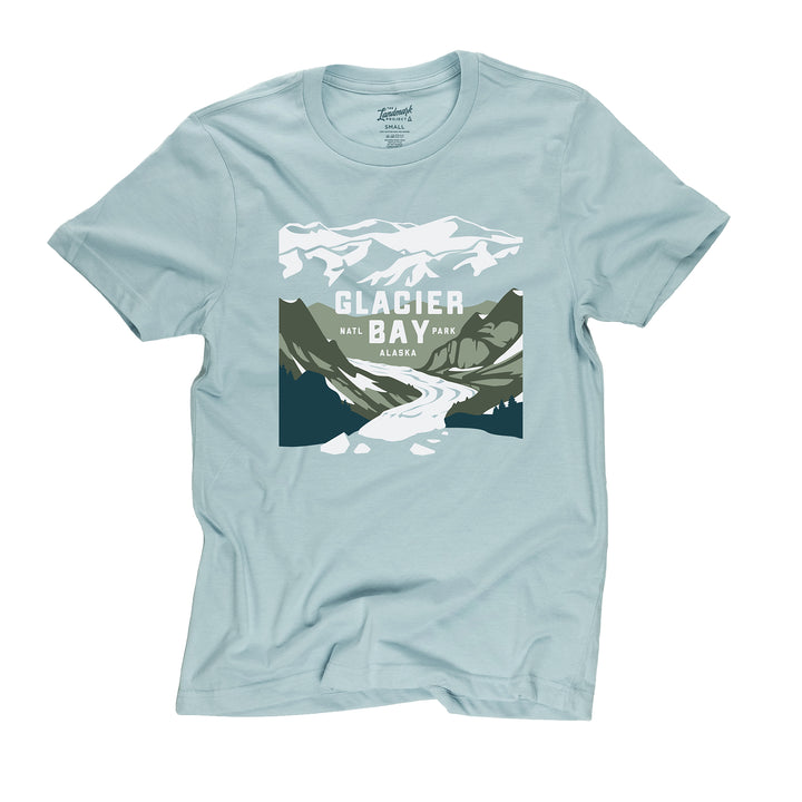 Glacier Bay t-shirt in desert sky