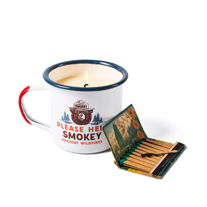 Smokey Bear Candle