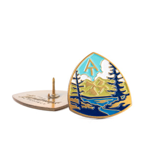 Appalachian Trail enamel pin
