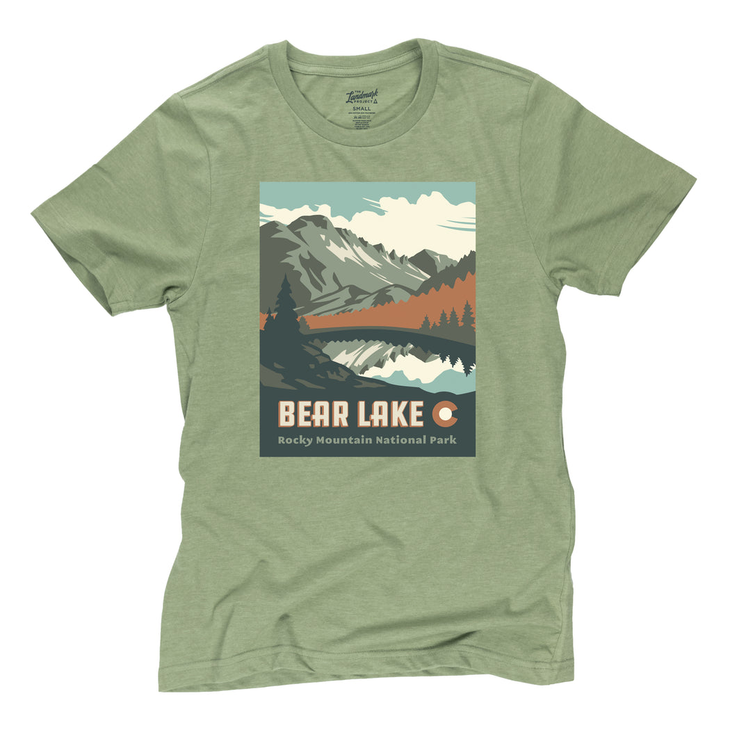 Bear Lake t-shirt in Cactus