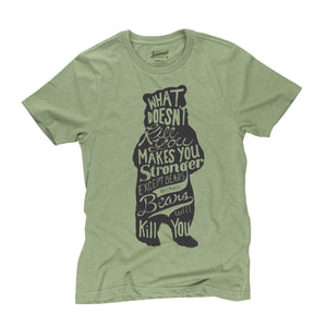 Bear t-shirt in cactus