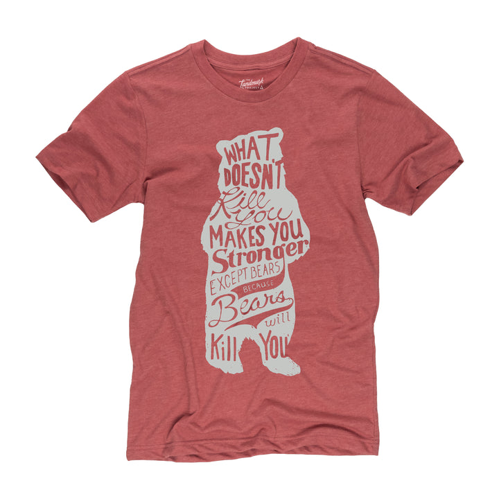 Bear t-shirt in poppy
