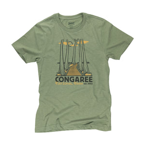 Congaree National Park t-shirt in cactus