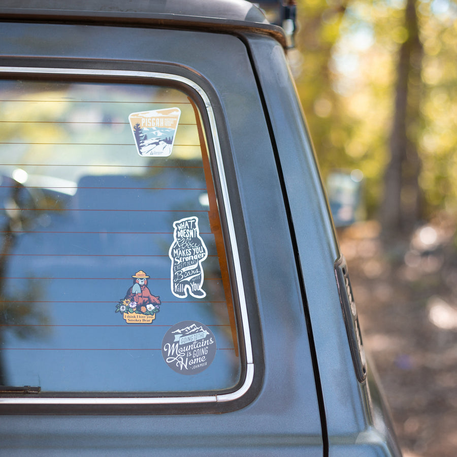 I Love You Smokey - Sticker