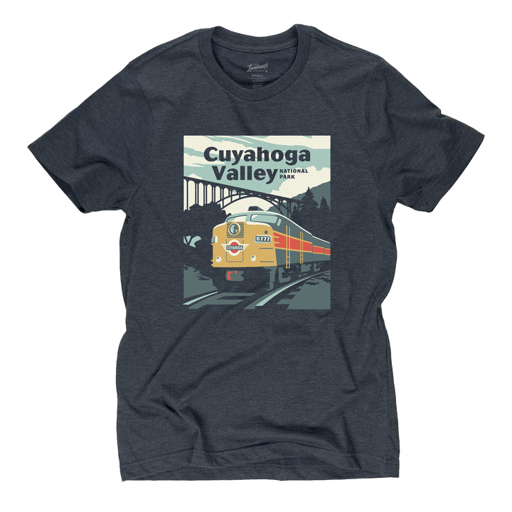 Cuyahoga Valley t-shirt in midnight